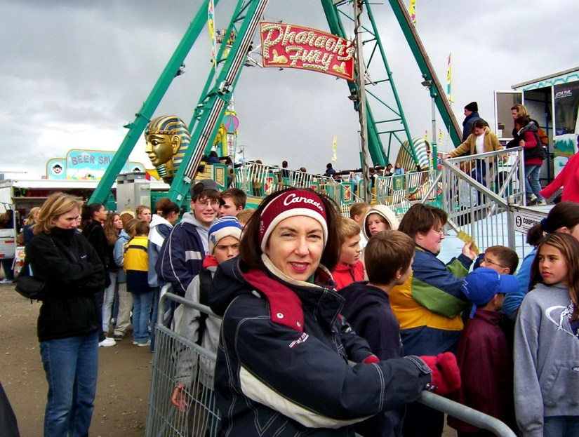 jean at the midway, markham fair, markham, ontario, 2003
