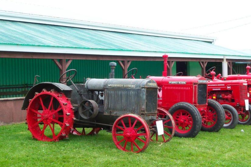 antique tractors, markham fair, markham, ontario, 2010