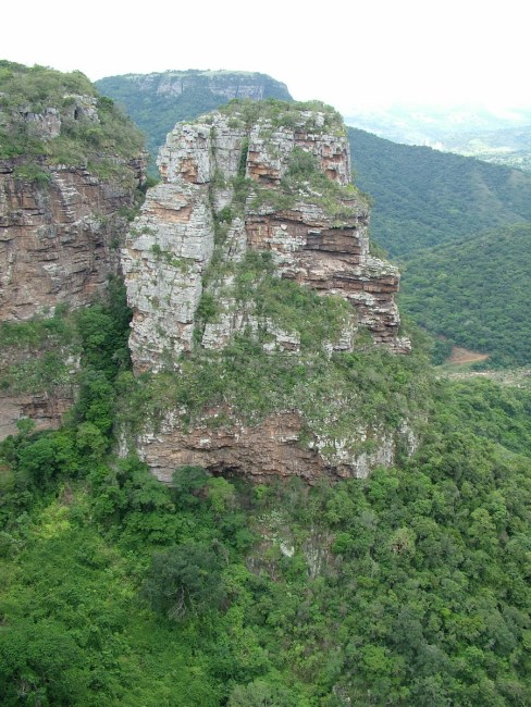 baboon's castle, oribi gorge, south africa