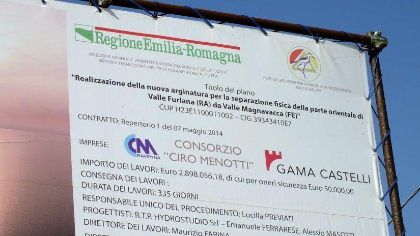 a sign for regione emilia-romagna, italy