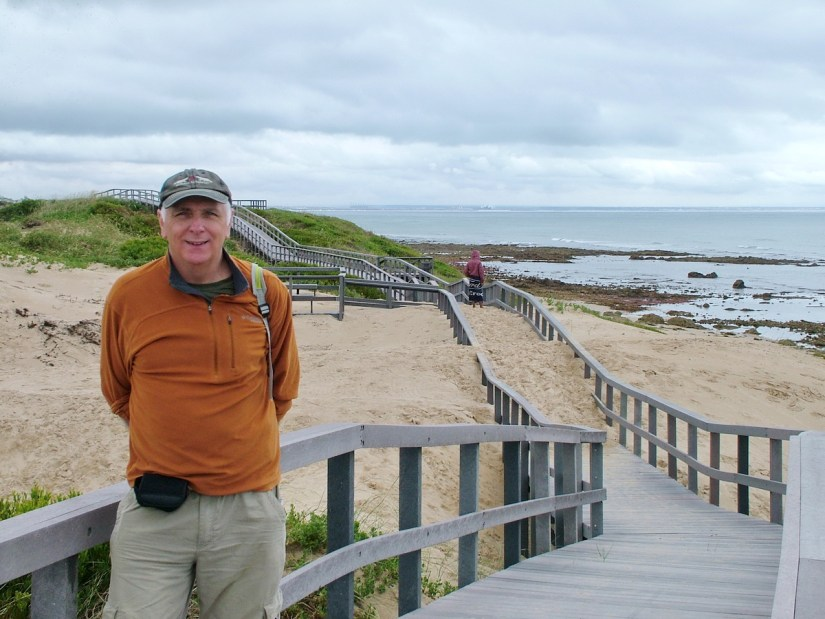 bob on the boardwalk, port elizabeth, south africa