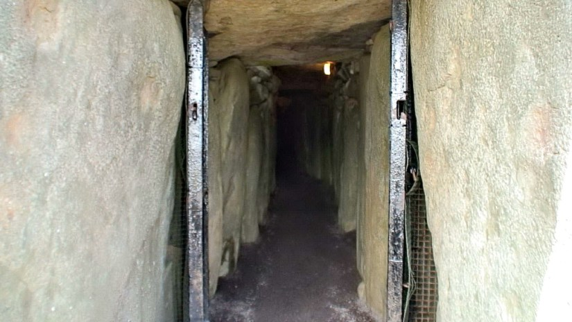 the passageway, newgrange, county meath, ireland