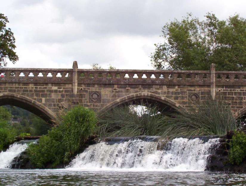 batheaston, bathampton toll bridge, avon river, england