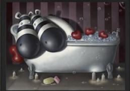 Peter Smith Rub-A-Dub Tub (Canvas on Board) 2