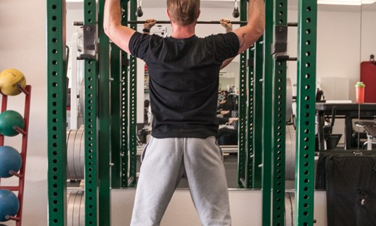 Framework Personal Training - Reno, NV JeremyWorking2 Stand Up for Abdominal Work