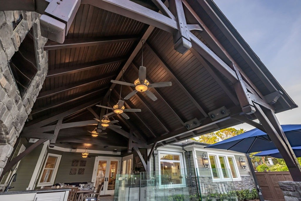timber frame patio covers frame work
