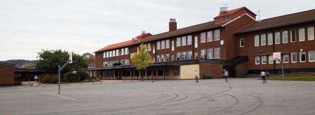 Ängskolan, Skene