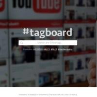 Cómo buscar una palabra clave en varias redes sociales al mismo tiempo: #tagboard