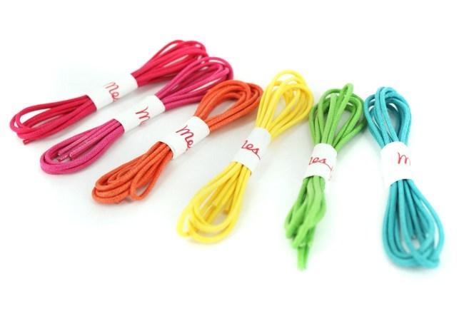 Des Lacets Fresh Nos chaussures prennent des couleurs avec meslacets l