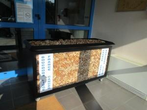 collecte recyclage bouchon en liège france cancer