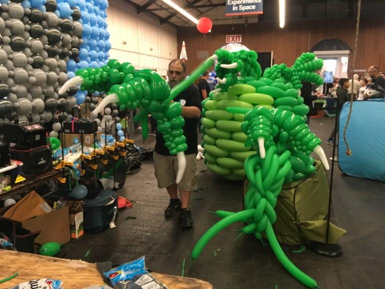 Airigami à Maker Faire Bay Area