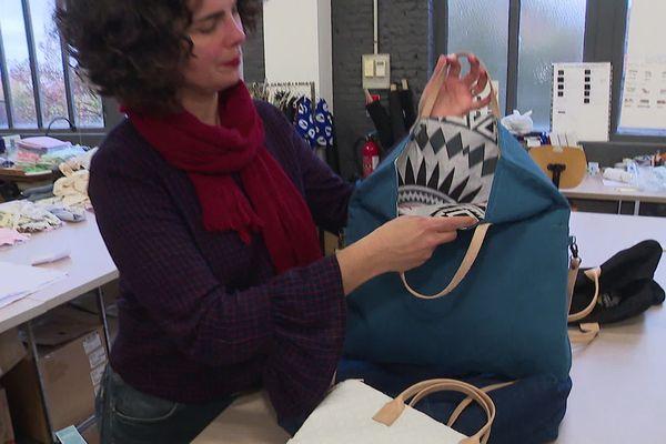 collection textile qui recycle ses invendus