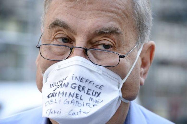 Lyon,18 septembre 2020, lors d'une audience de conciliation,le pneumologue avait défendudevant ses pairs, ses arguments anti-masque. Près de trois mois plus tard, le voilà suspendu pour 5 mois en attendant la décision de la commission disciplinaire de l'Ordre des médecins du Rhône.
