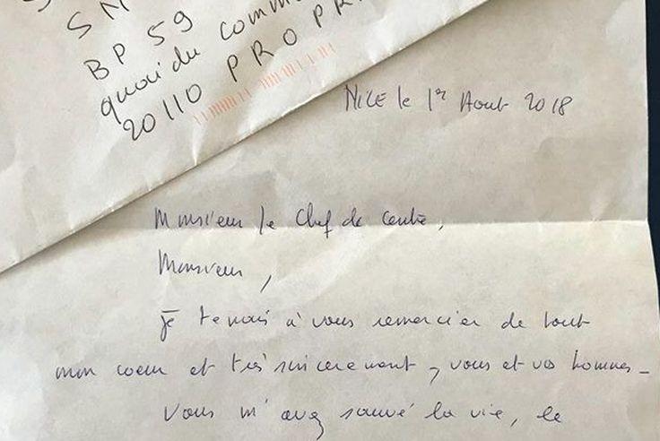 lettre pour dire merci a ses sauveteurs