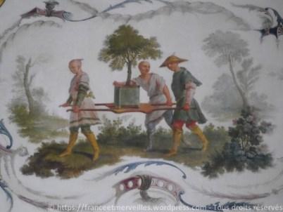 Transport de l'oranger - Christophe Huet