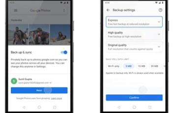 Google Photos dobiva opciju za brzi backup fotografija