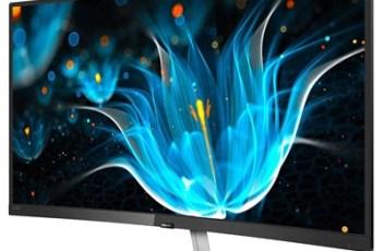 Philips obnovio i E9 liniju zakrivljenih monitora s tri nova modela
