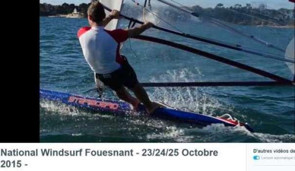 Championnat de France Raceoboard 2015 - CN Fouesnant Cornouailles