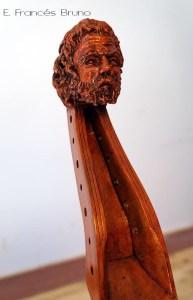 Head viol colichon 1683 eduardo frances bruno luthier