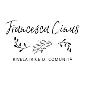 Firma Francesca Cinus - Rivelatrice di Comunità