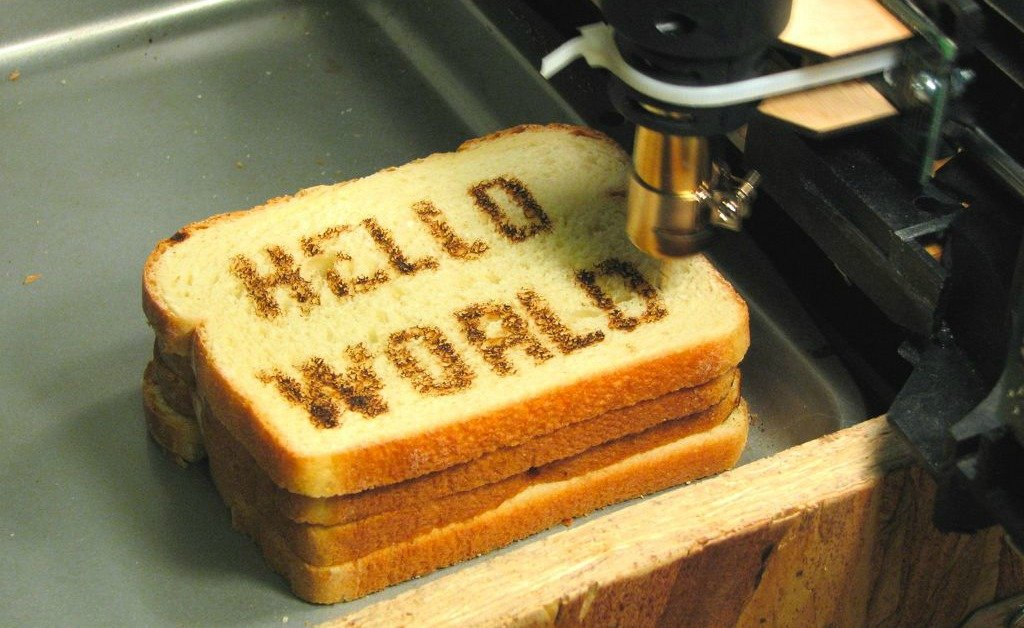 Hello World in macchina CNC