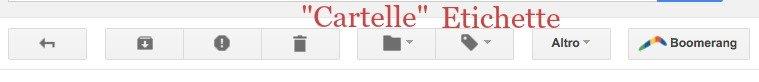 Gestione Etichette Gmail