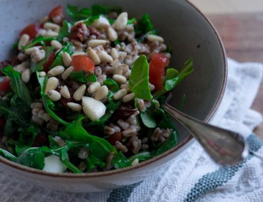 dinkel salat