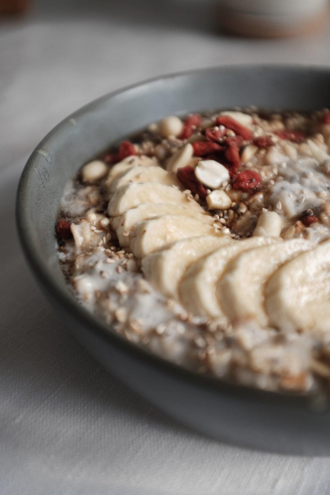 Cremiges porridge