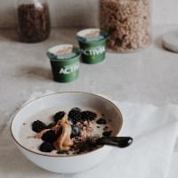 Gesunde Frühstücksbowl mit Activia