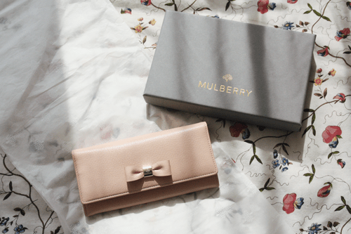 mulberry bow continental wallet on francescasophia.co.uk