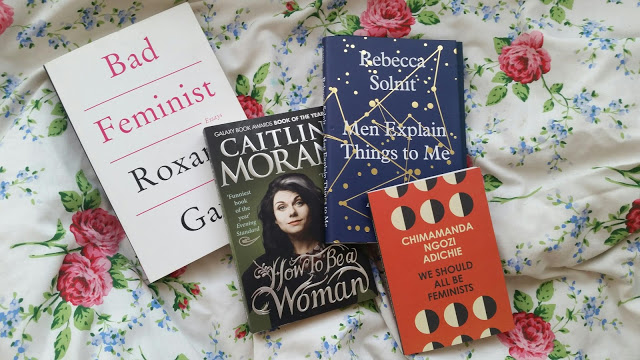 entry-level feminist books on francescasophia.co.uk   books to read if you're a feminist and want to be a better feminist