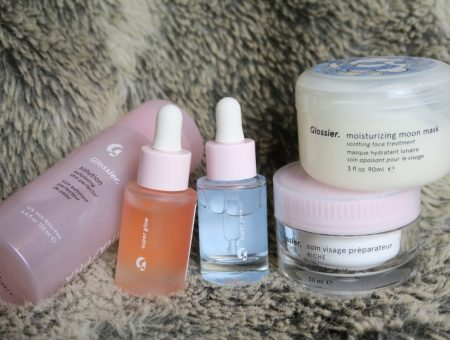 My Current Skincare Routine for Dry & Problem Skin | Glossier Review