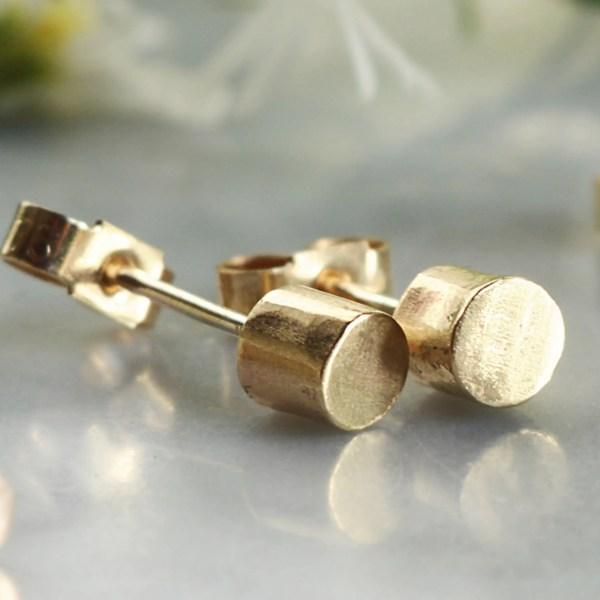Cilindri Ethical Gold Studs