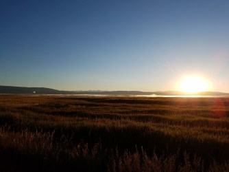 Sunrise at the Red Rock Wildlife Refuge