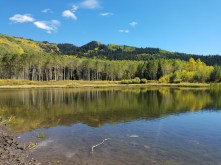 The Lake at Willow Heights in Utah's Big Cottonwood Canyon
