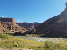 The Colorado River near Moab, Utah
