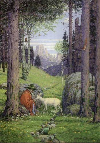 Josef Madlener. Der Berggeist