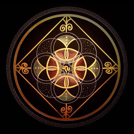 Symbol-Mandala