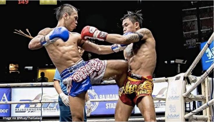 The Straight Knee Strike -Khao Trong  Il ginocchio ascendente dritta è forse l