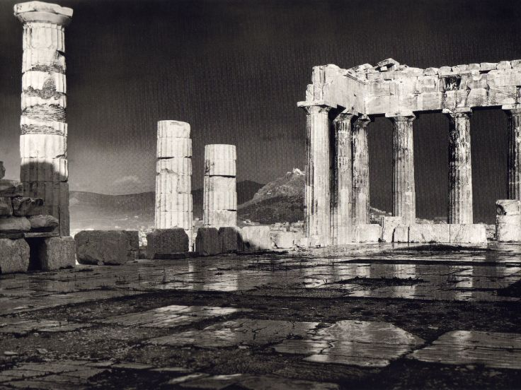 THE-PARTHENON-IN-THE-RAIN.-FREDERIC-BOISSONNAS-1903