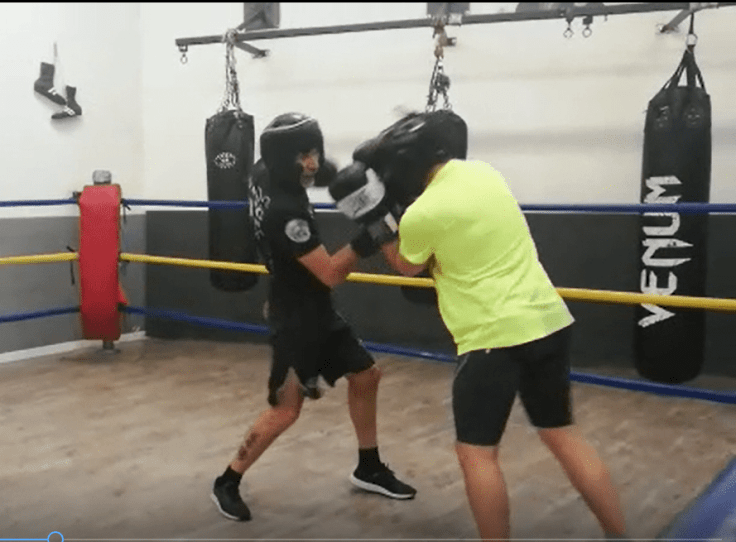 sparring francesco dal pino