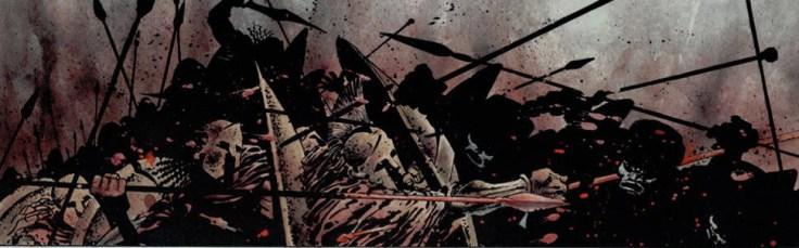 spartani contro immortali frank miller