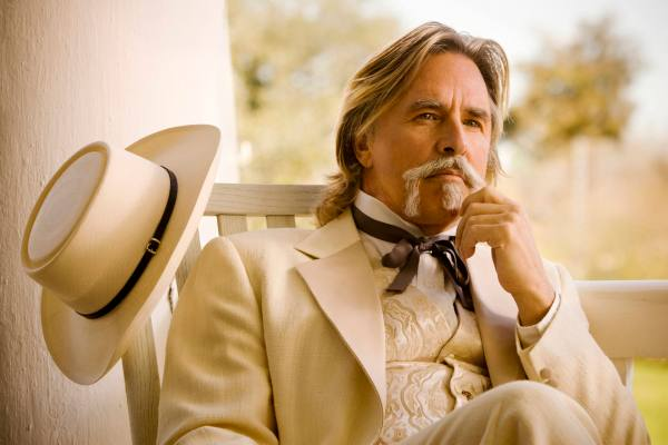 "Don Johnson in Columbia Pictures' ""Django Unchained,"" starring Jamie Foxx and Christoph Waltz."