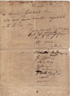 Uno dei tanti preziosi documenti manoscritti in possesso all'Archivio della Domus Mazziniana.