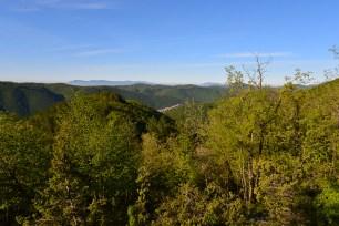 Trevi nel Lazio immerso nel verde dei Simbruini
