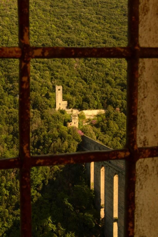 Il Ponte delle Torri visto dalla Rocca