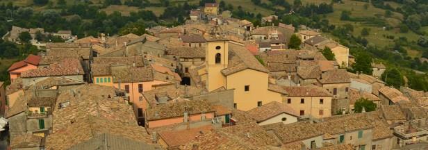 Panoramica su Trevi nel Lazio