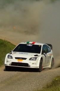 Taddei - Gaspri/Ford Focus WRC - Liburna Terra 2016