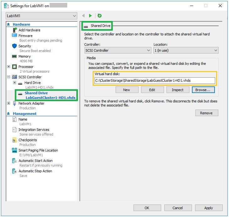 Windows Server 2016: Introduction to Hyper-V VHD Set