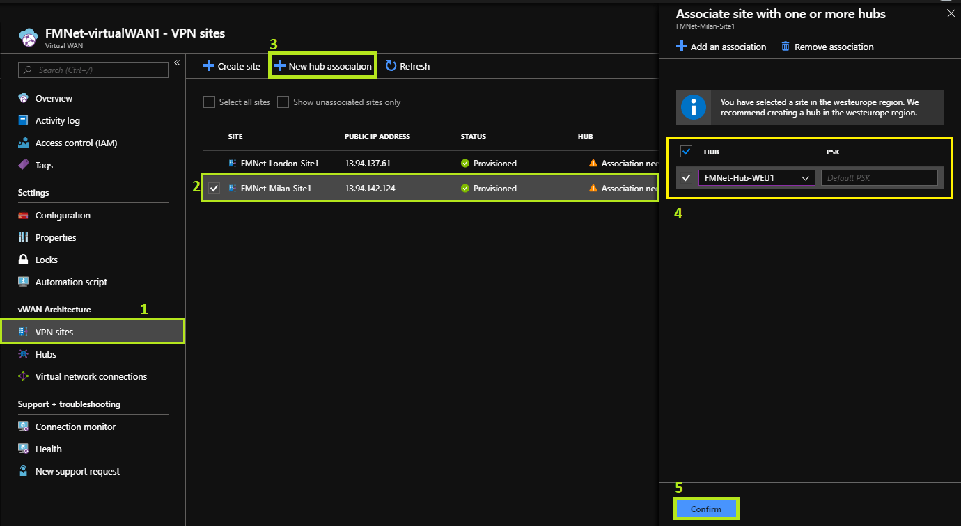 Azure Virtual WAN: introduction to the solution - Francesco
